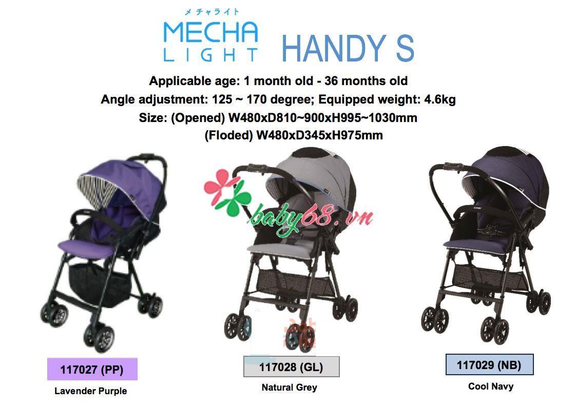 Picture of Xe đẩy Combi Mechacal Handy S