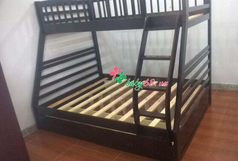 Picture of Giường tầng trẻ em Logan Honey BB129 kèm hộc nằm