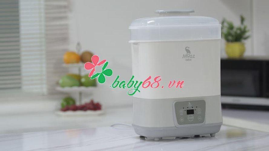 Picture of  Máy tiệt trùng sấy khô và hâm sữa thông minh Moaz BéBé MB011