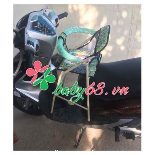 Picture of Ghế ngồi xe máy có vòng bảo vệ xếp gọn xe ga